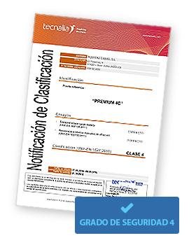 Imagen Certificado grado 4
