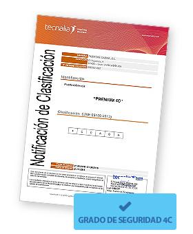 Imagen Certificado grado 4 y grado 4c