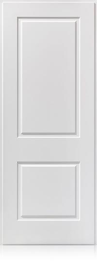 Panel lacado en blanco 2