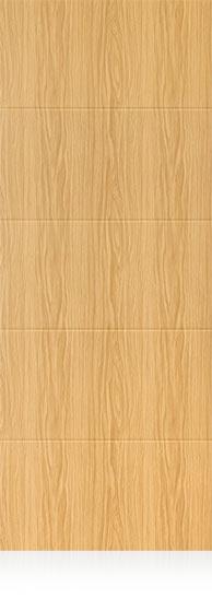 Panel vinilo exterior 4 rayas roble