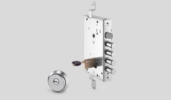 Cerradura de bombillo con bloqueo de seguridad