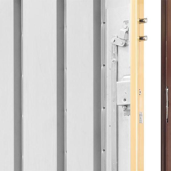 Puertas cabma thor 20 for Puertas galvanizadas